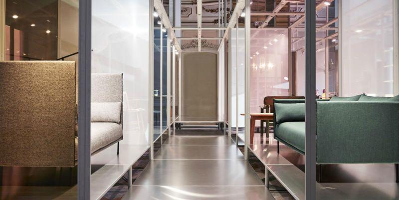 Quando il design danese abita un'architettura barocca: Hay a Palazzo Clerici