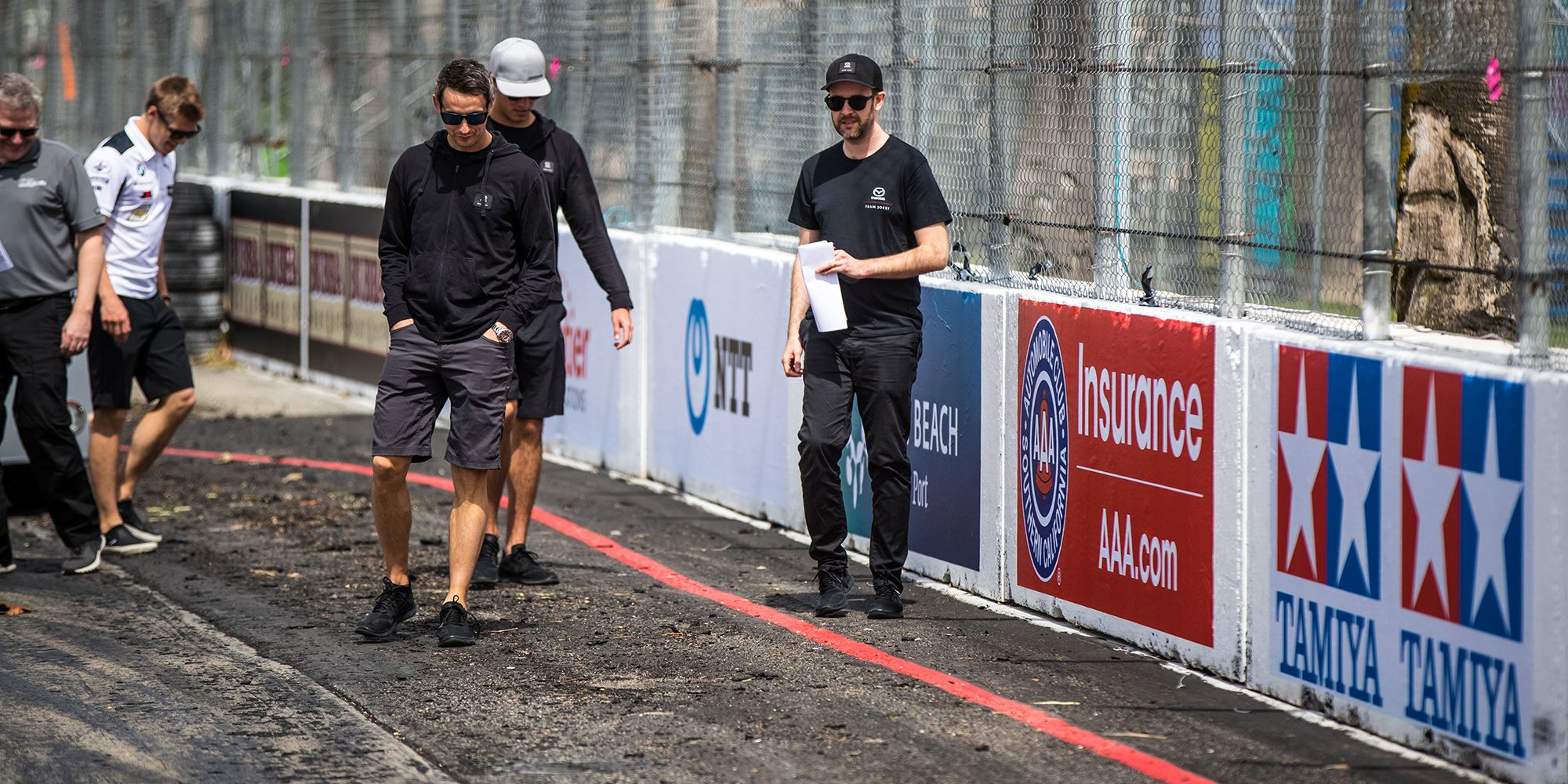 Why a Track Walk Is One of the Most Important Parts of a Race Weekend