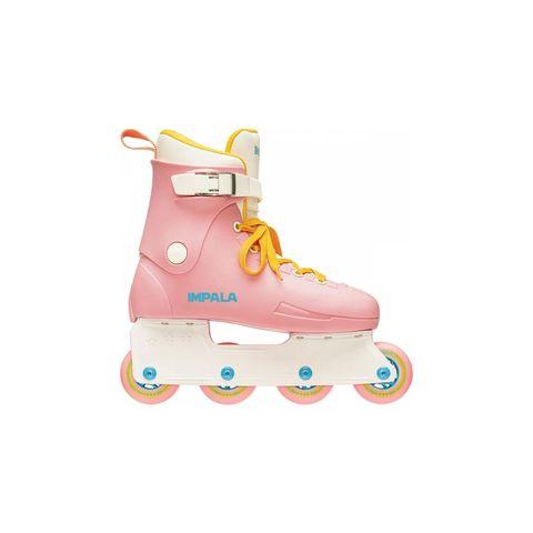 impala inlineskates unisex kinderen volwassen roze skeeleren skeelers skaten