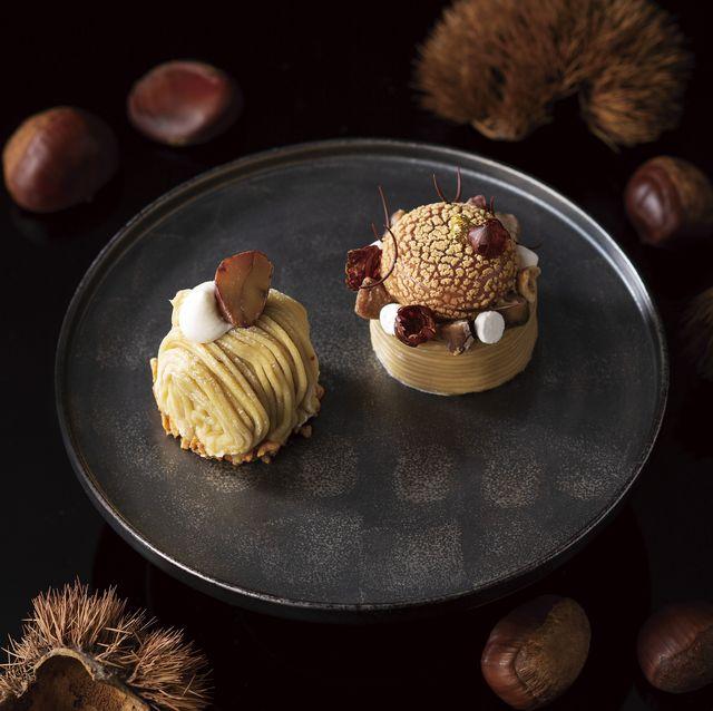 スイーツ 秋 ホテル 栗 モンブラン りんご ぶどう シャインマスカット いちじく さつまいも ケーキ パフェ おすすめ 人気