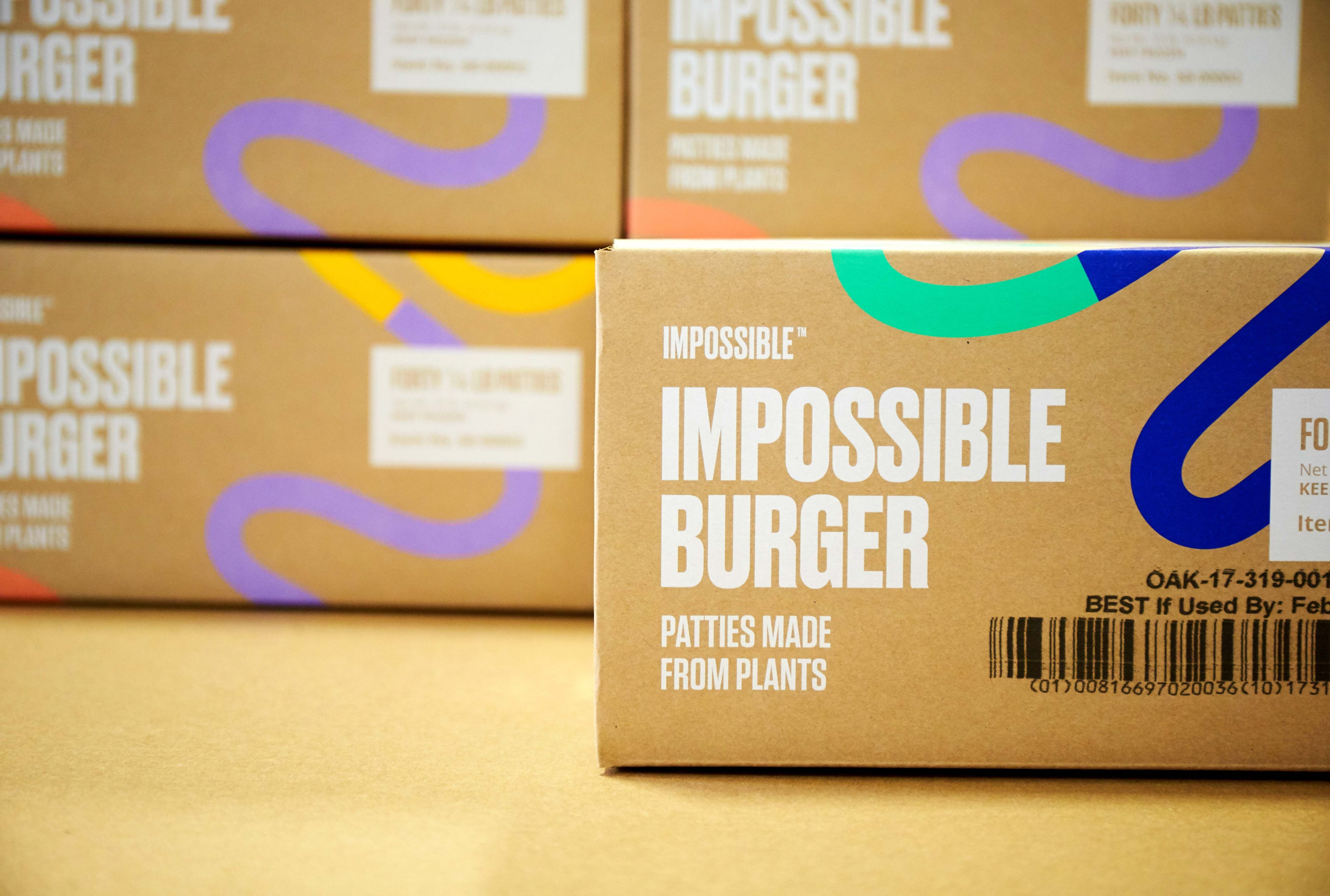 You Can Now Buy Impossible Burgers At Grocery Stores