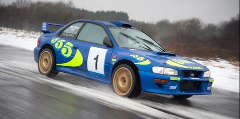 Colin Mcrae S Subaru Wrc Car Sells For 300 000