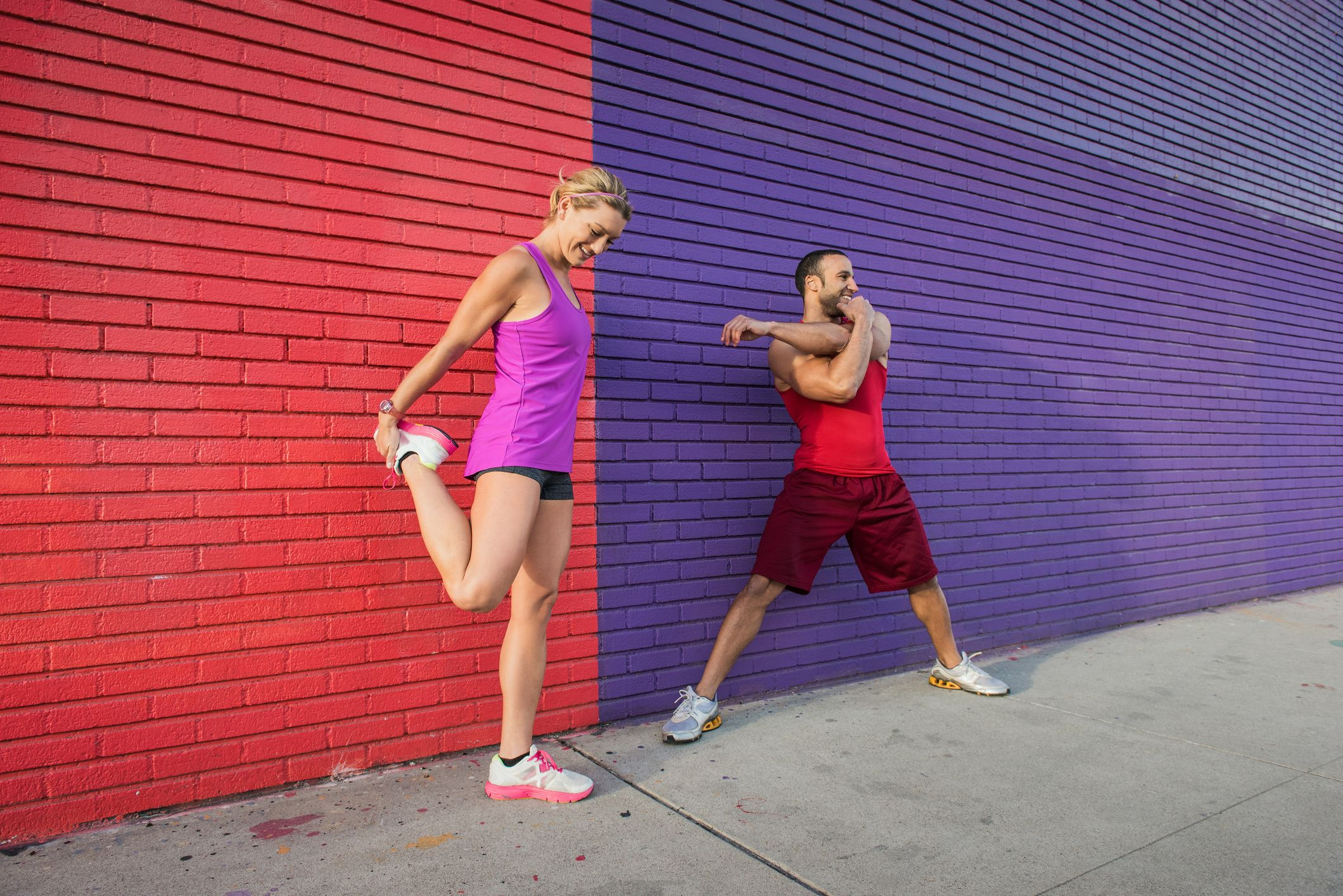 6 Ways to Ease Into a Fitness Routine if You're Not Active images