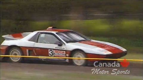 imsa pontiac fiero modificado para rally