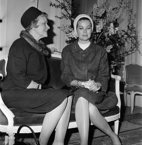 grace kelly y su madre margaret katherine majer