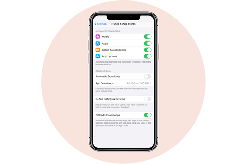 in app reviews ratings apple iphone