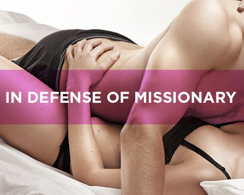 One Man Pleads His Case for the Missionary Position