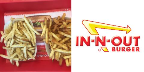 French fries, Junk food, Fried food, Fast food, Dish, Food, Side dish, Kids' meal, Cuisine, Ingredient,