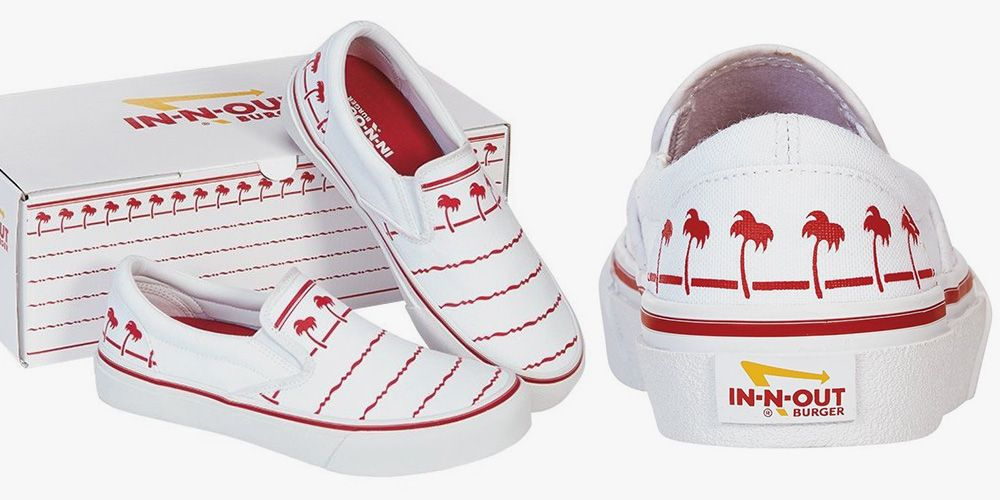 You Can Get In N Out Shoes That Look Just Like Its Palm