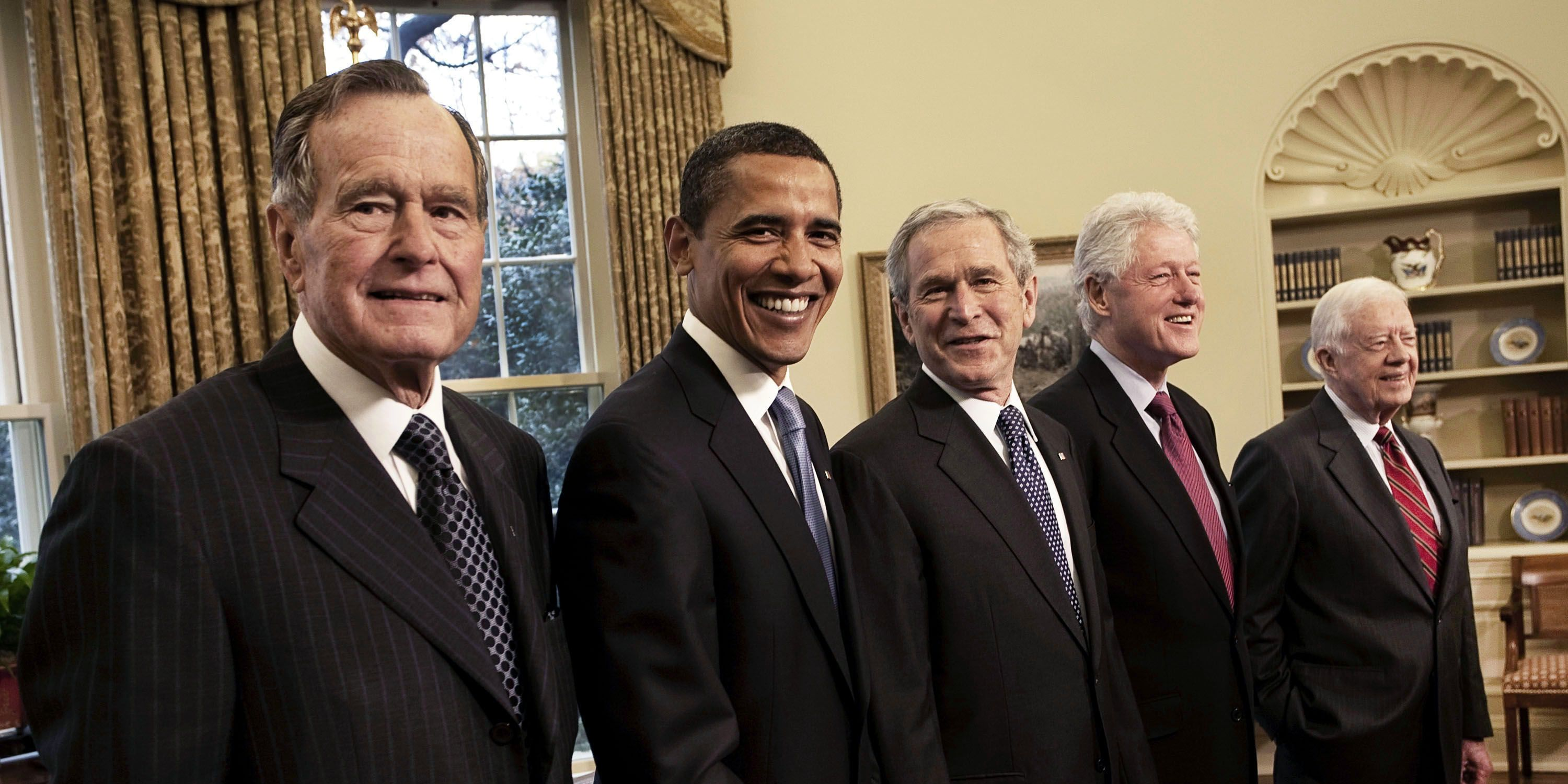 Five Presidents, The Oval Office