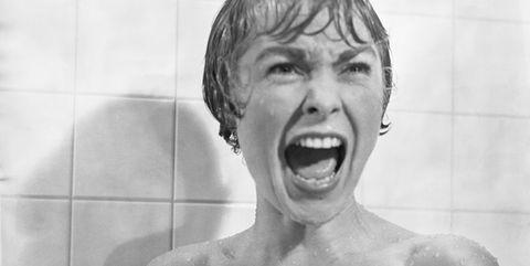 Janet Leigh Screaming in Psycho Shower Scene