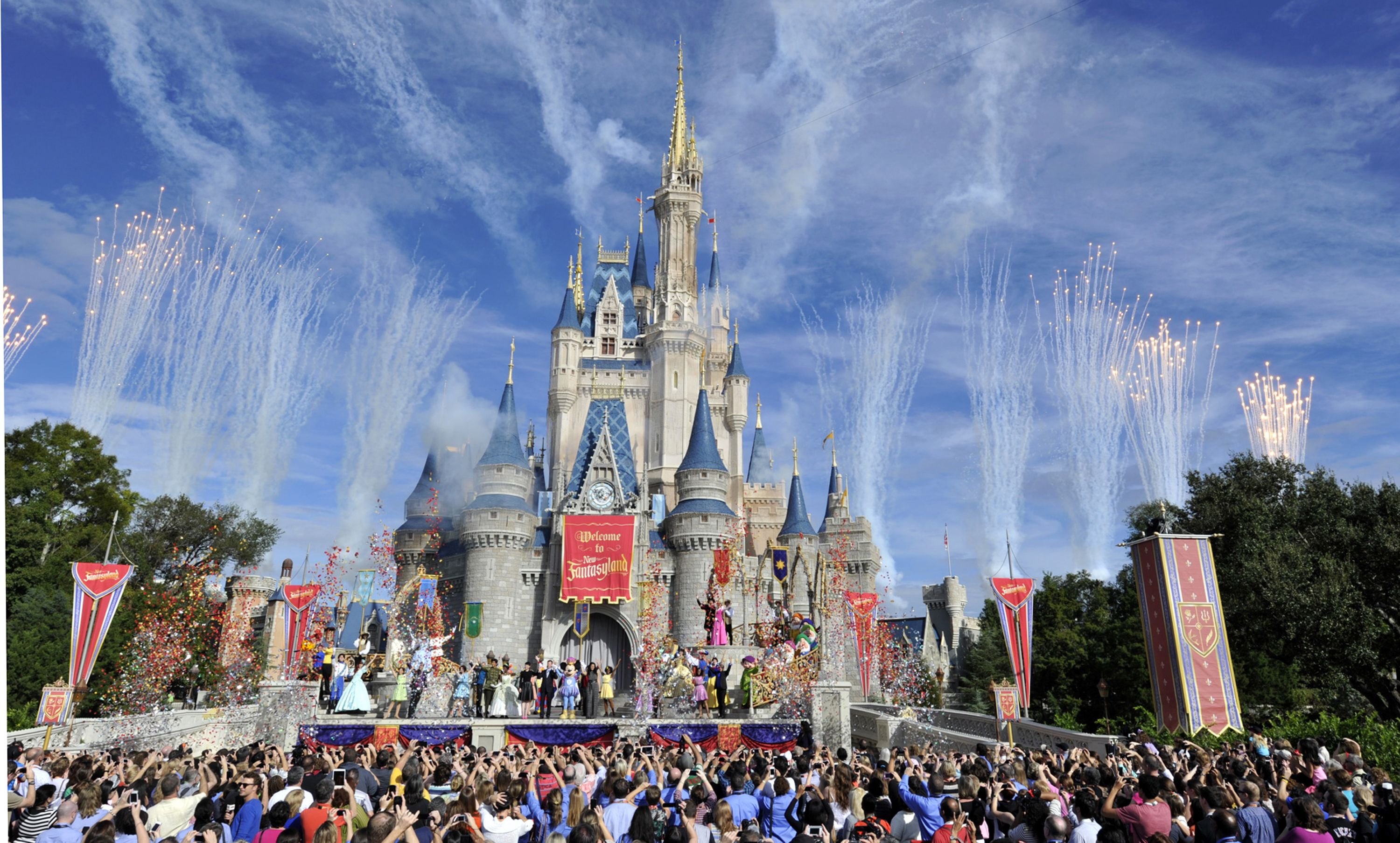 Stay in Disney World's Cinderella Castle Suite For Free