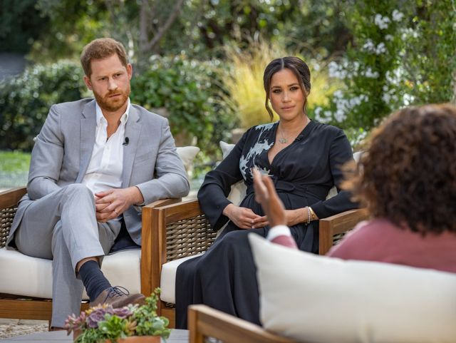 meghan and prince harry sit down with oprah winfrey for an interview