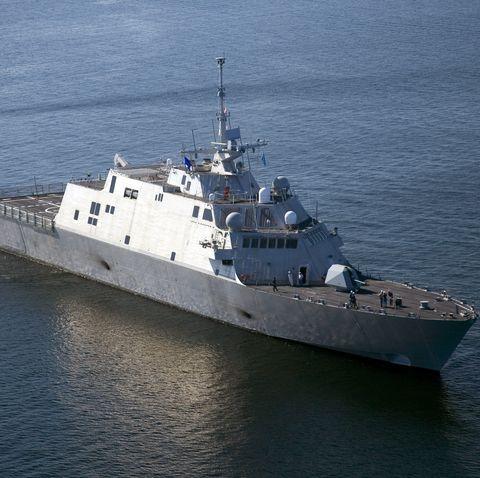 Navy's New Littoral Combat Ship Begins Testing