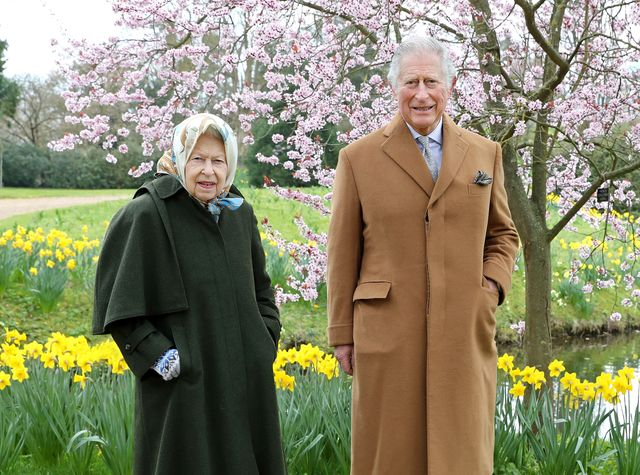 official pictures of the queen and the prince of wales