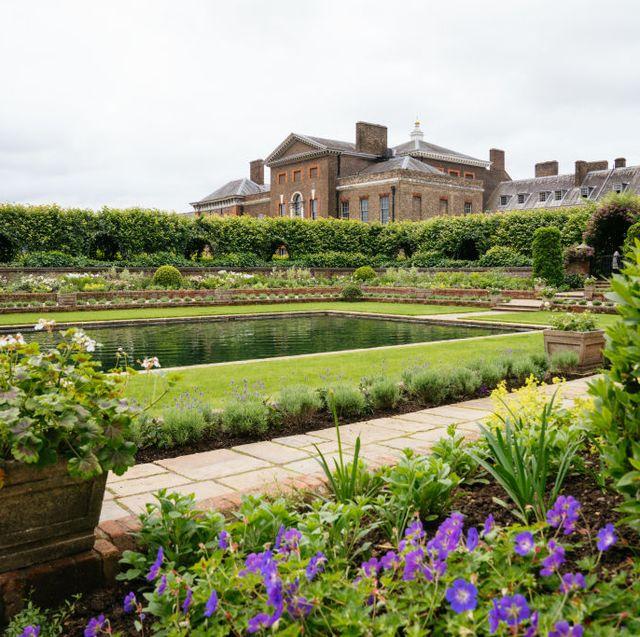 kensington palace reveals new sunken garden design ahead of princess diana statue unveiling
