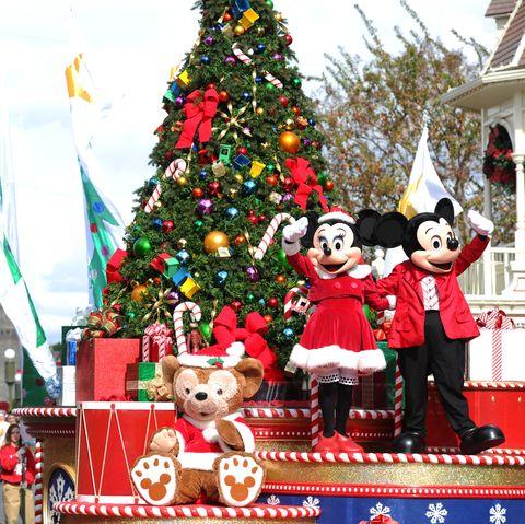Gravação especial de natal da disney de 2012