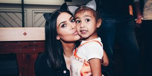 Kim Kardashian And North West Attend Ariana Grande's Dangerous Woman Concert At The Forum