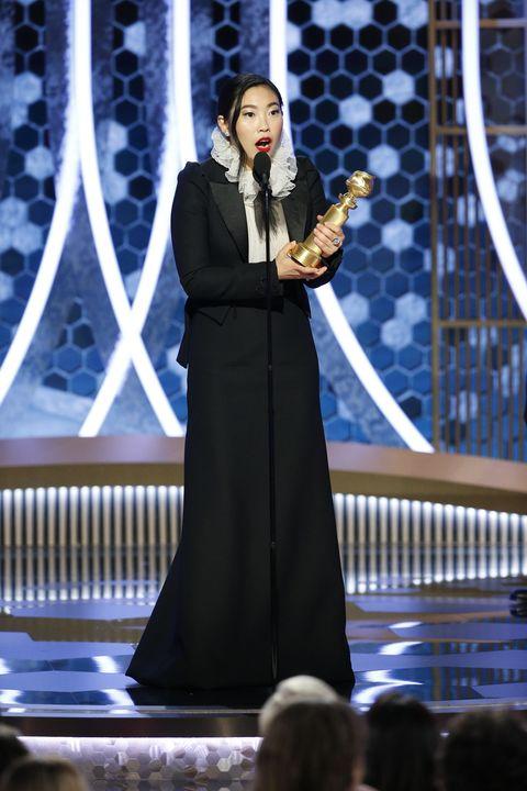 "awkwafinaNBC's ""77th Annual Golden Globe Awards"" - Show"