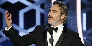 "joaquin phoenix NBC's ""77th Annual Golden Globe Awards"" - Show"