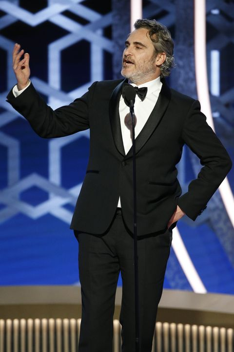 "joaquin phoenixNBC's ""77th Annual Golden Globe Awards"" - Show"