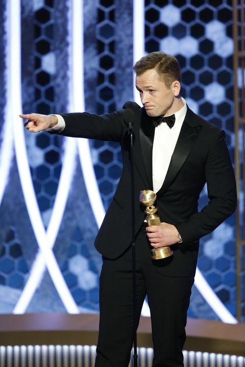 "Taron EgertonNBC's ""77th Annual Golden Globe Awards"" - Show"
