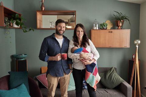 Family Portraits of New Zealand PM Jacinda Ardern