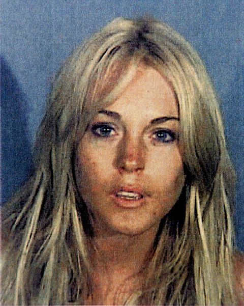 Lindsay Lohan Arrested and Released from the Santa Monica Police Station