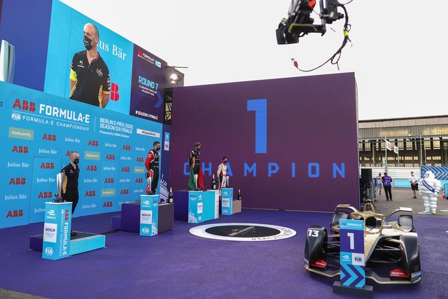 abb fia formula e championship round seven   berlin e prix