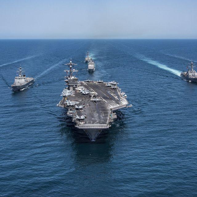 strike force patrols western pacific ocean