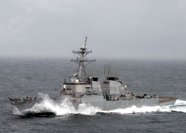 us navy deploys warships for possible strike on syria