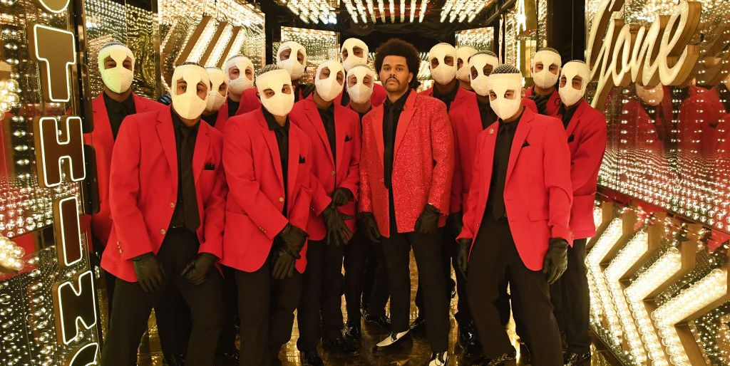 Why The Weeknd Had Bandaged Lookalike Dancers During His Super Bowl Performance