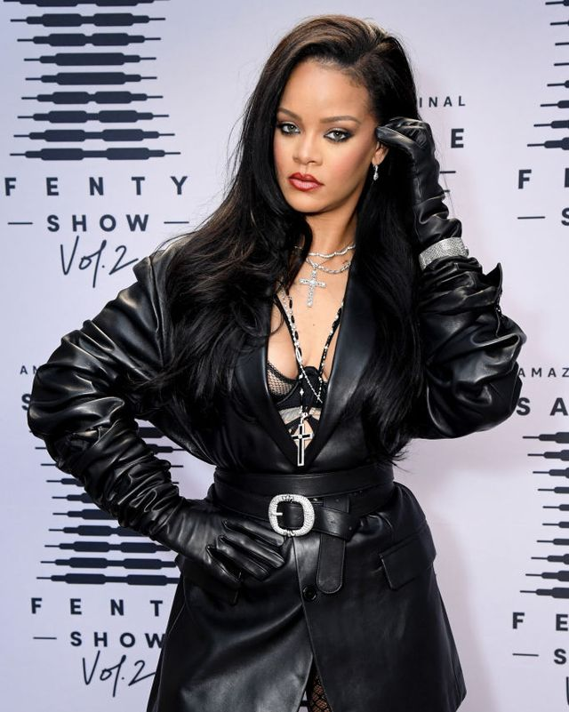 rihanna's savage x fenty show vol 2 presented by amazon prime video  step and repeat