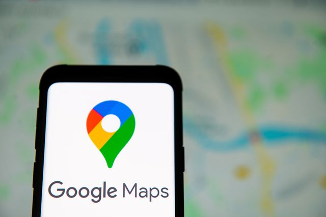 in this photo illustration a google maps logo