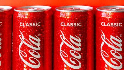 coca cola blikjes