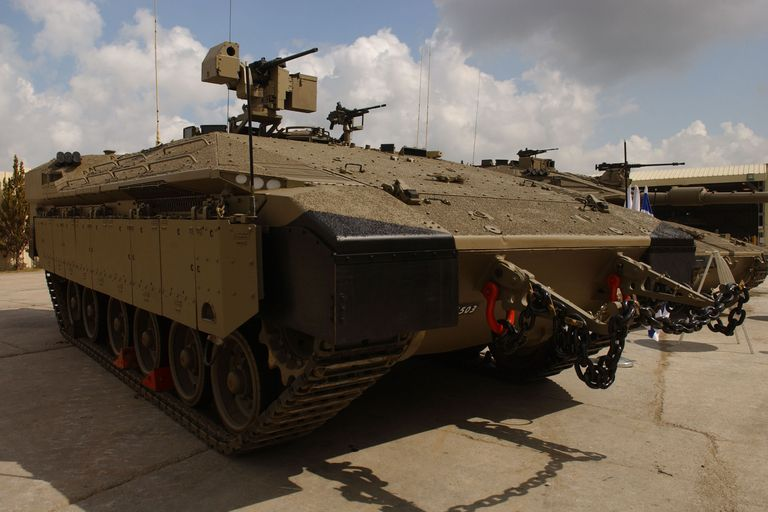 Israel's 'Namer' Infrantry Vehicle Could Be a Glimpse of the U.S. Army's Future In-this-photo-provided-by-the-israeli-defense-forces-news-photo-80083186-1544728557