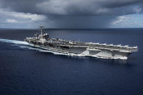 USS Carl Vinson Transits The Philippine Sea