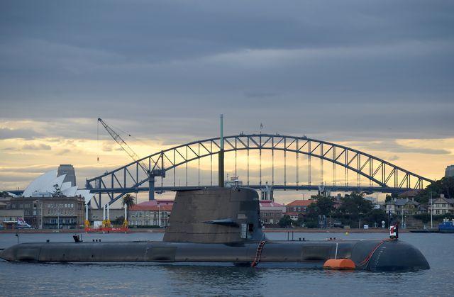 australia france defence military submarines