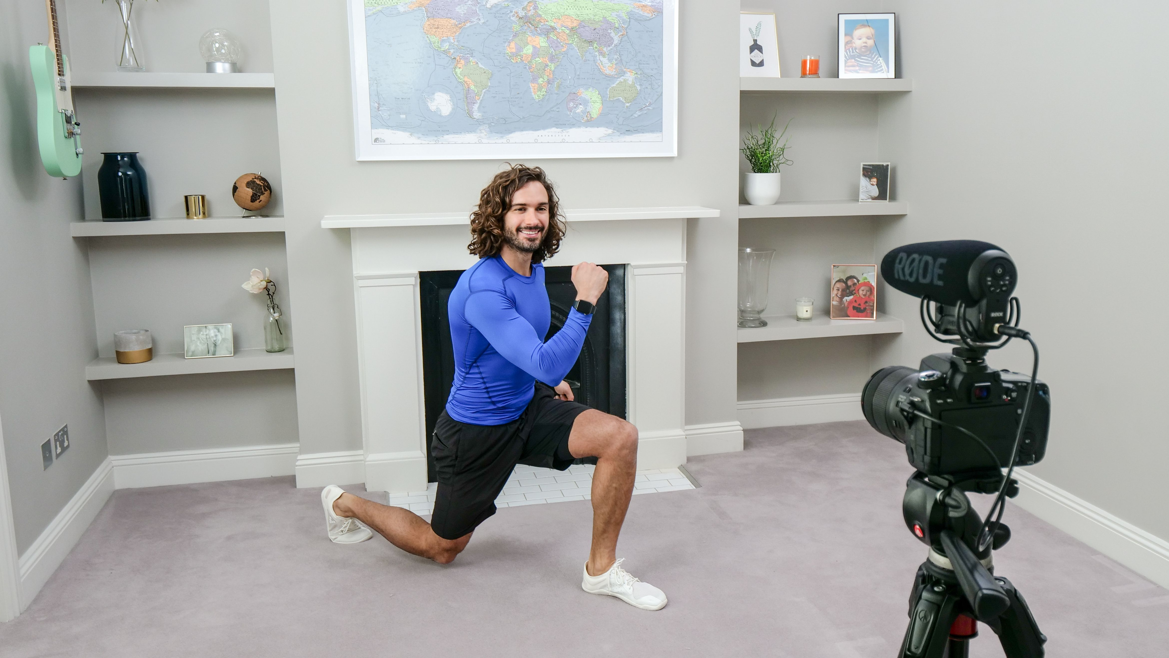 Joe Wicks' 5 Fail-Safe Home Workout Motivation Tips: From 'Do Half' to 'Lead by Example'