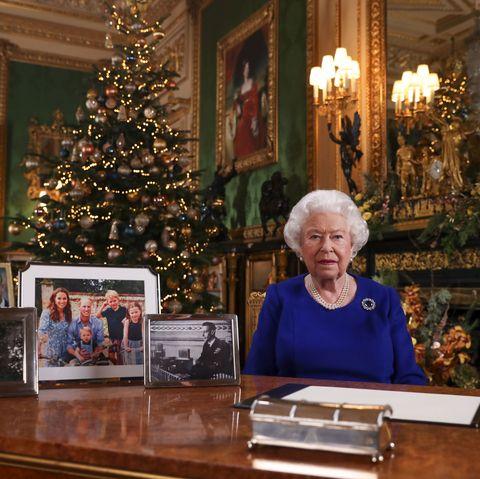 Queen Elizabeth II Records Her Annual Christmas Broadcast