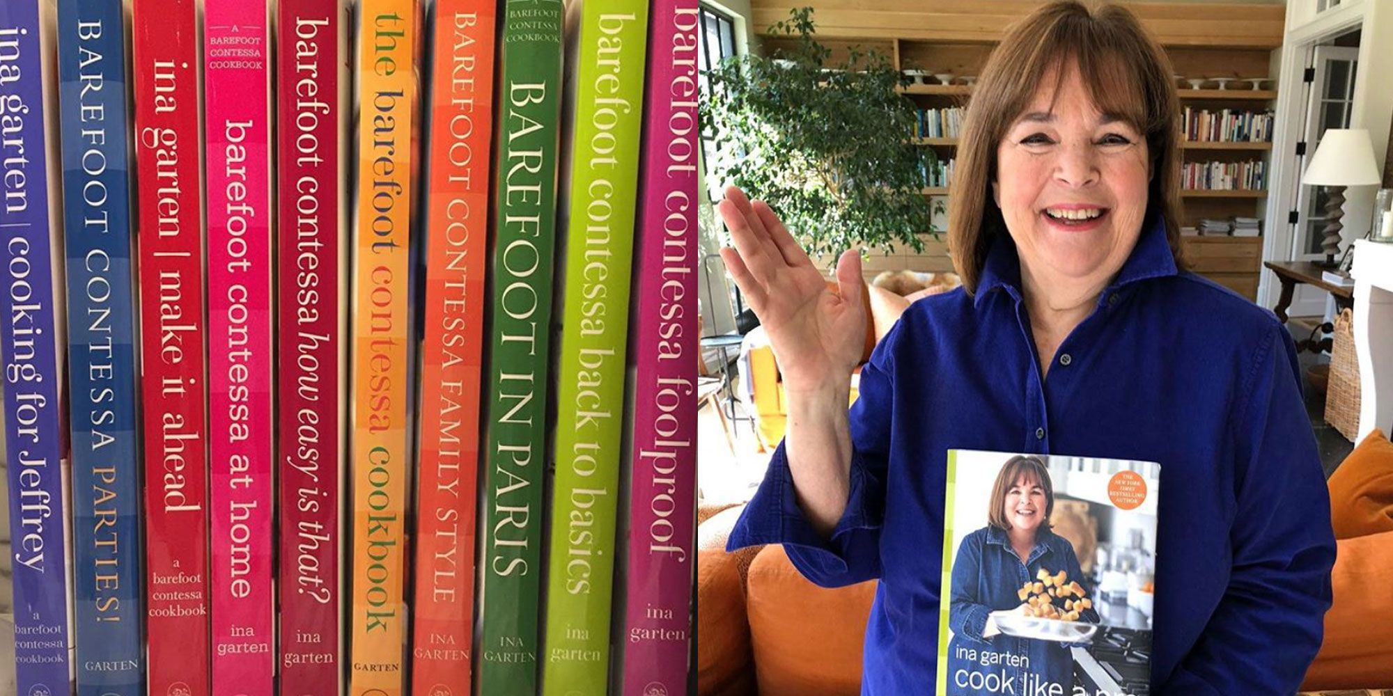 A Guide To All 11 Of Ina Garten's Cookbooks - Barefoot