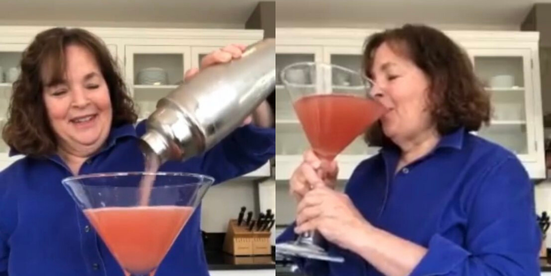 Please Allow Ina Garten To Show You How To Properly Prepare A Quarantine Cocktail