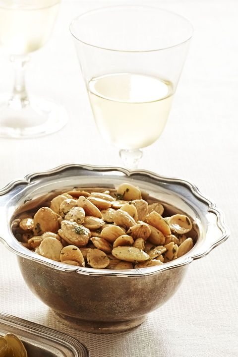 Ina Garten Thanksgiving Recipes - Thyme-Roasted Marcona Almonds