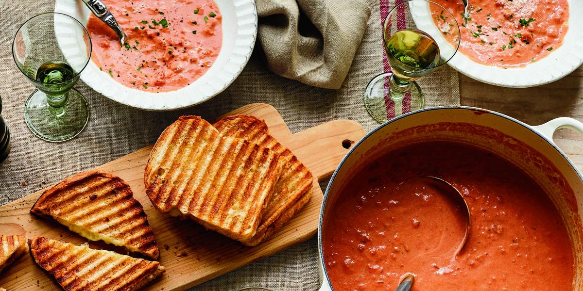 Ina Garten's Cheddar & Chutney Grilled Cheese Sandwiches