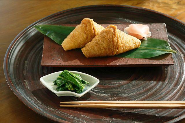 2月3日「初午」にいただく「いなり寿司」と「畑菜のからし和え」