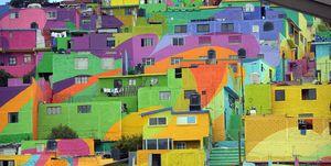 Pachuca: cuando una ciudad se convierte en una obra de arte con este macro mural