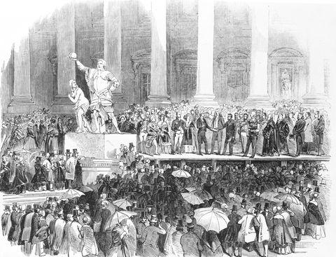 inauguration of president polk