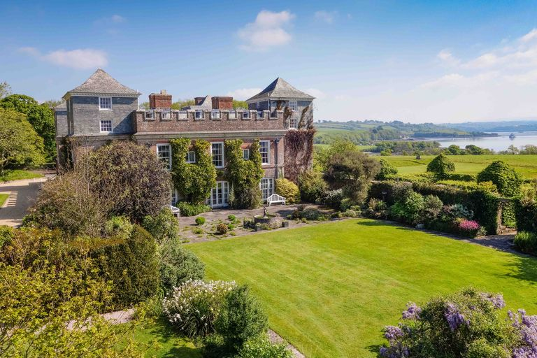 Incredible 13 Bedroom Castle Estate With Private Beach For Sale In Idyllic Cornwall