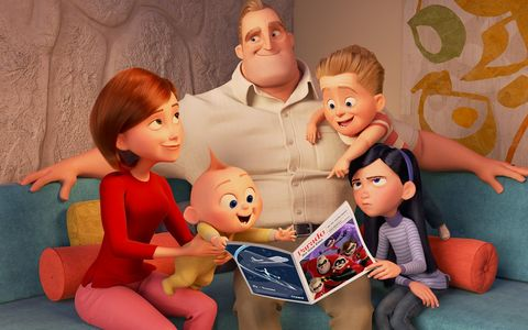 People, Toy, Doll, Fun, Child, Room, Toddler, Animated cartoon, Family, Media,