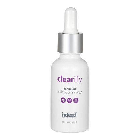 indeed clearify facial oil met salicylzuur